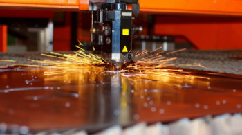 Laser cutting product